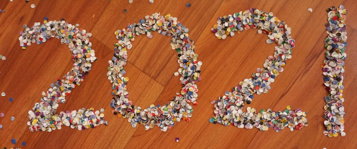 Tekenen met confetti