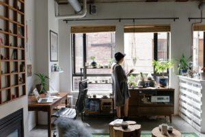 Home office - thuiskantoor