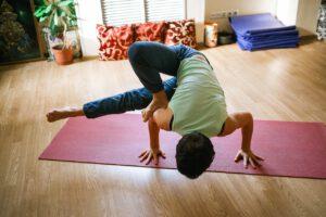 Stretchoefening gezond thuiswerken
